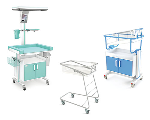 Wyposażenie oddziałów noworodkowych i dziecięcych