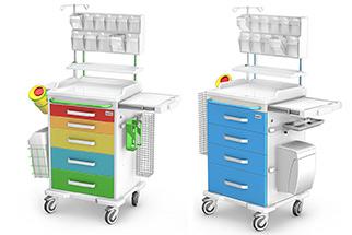 Stoliki medyczne, wózki medyczne