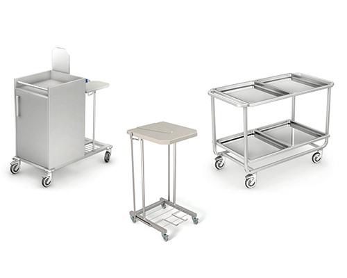 Medyczne Wózki transportowe