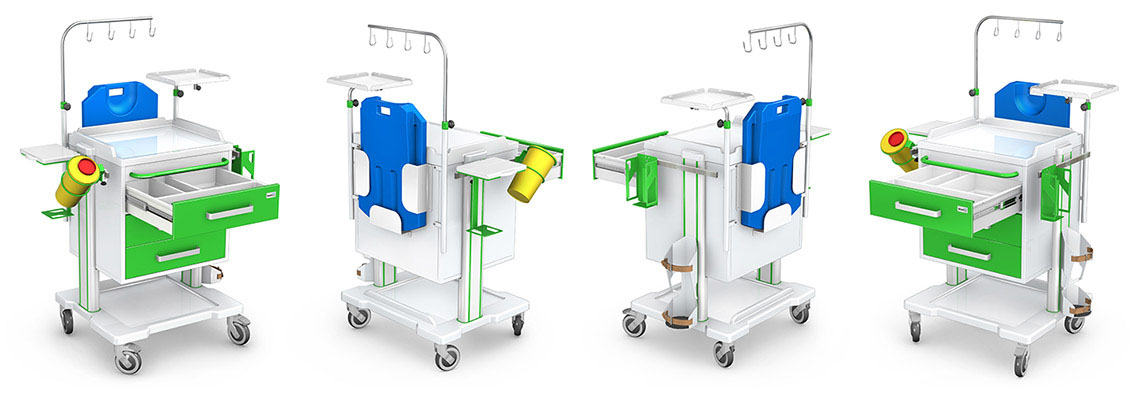Wózek reanimacyjny OPTIMUM