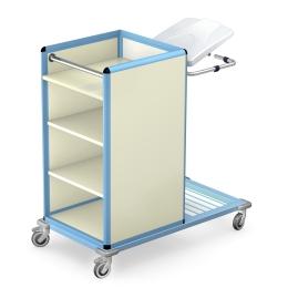 Wózki do transportu czystej i brudnej bielizny seria WCB
