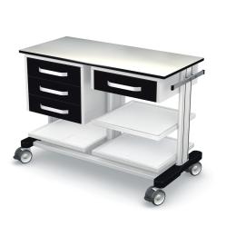 Wózki pod aparaturę medyczną PAR100-1