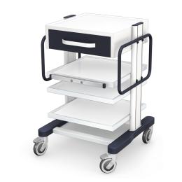 Wózki pod aparaturę medyczną seria APAR-2