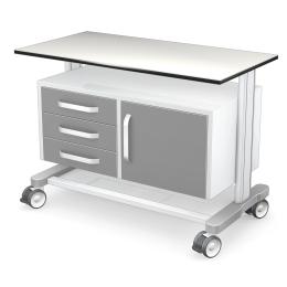 Wózki pod aparaturę medyczną PAR100-1N