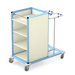 Wózek do transportu czystej i brudnej bielizny WCB-1411
