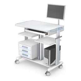 Wózki pod aparaturę medyczną PAR120-2N