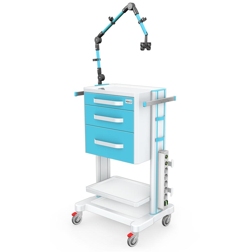 Stoliki pod aparaturę medyczną seria K-1 LUX
