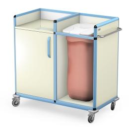 Wózek do transportu czystej i brudnej bielizny WCB-2123