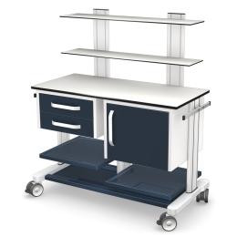 Wózki pod aparaturę medyczną PAR100-2