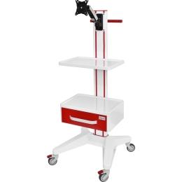Wózki pod aparaturę medyczną AP-5 z wyposażeniem