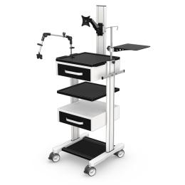 Wózki pod aparaturę medyczną AR120-3N z wyposażeniem