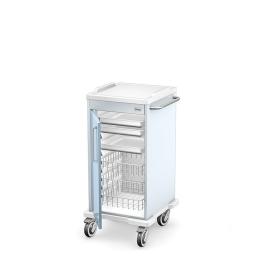 Wózek zabiegowy wielofunkcyjny MULTI-01/ABS z wyposażeniem