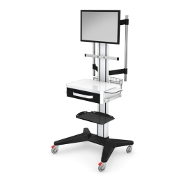 Wózki pod aparaturę medyczną AP-3 z wyposażeniem