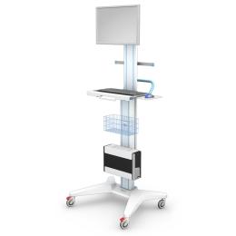 Wózki pod aparaturę medyczną AP-6 z regulacją wysokości