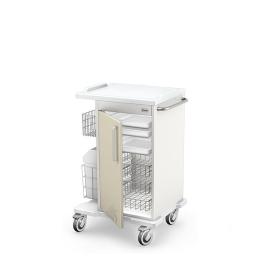 Wózek zabiegowy wielofunkcyjny MULTI-02/ABS z wyposażeniem