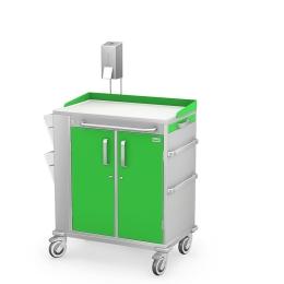 Wózek zabiegowy wielofunkcyjny MULTI-05/KO z wyposażeniem