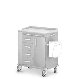 Wózek zabiegowy wielofunkcyjny MULTI-06/KO z wyposażeniem