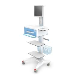Wózek pod aparature medyczną AP-4 z wyposażeniem