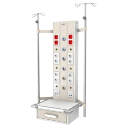Kaseton elektryczno-gazowy ISA 9000 naścienny pionowy