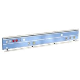 Kaseton elektryczno-gazowy ISA 9000 naścienny z systemem szynowym