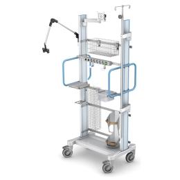 Przyłóżkowy mobilny system szynowy PMS-620-170-W4