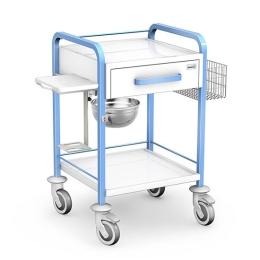 Wózek zabiegowy STKO-01/ST-B z wyposażeniem