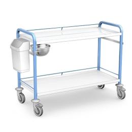 Wózek zabiegowy STKO-04/ST z wyposażeniem