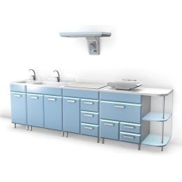 Stanowisko do pielęgnacji noworodków KACPEREK moduł UABBP