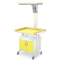 Stolik zabiegowy do pielęgnacji noworodków SPTM-02/IR