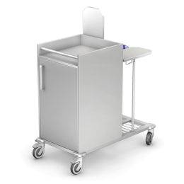Wózek do transportu czystej i brudnej bielizny WZB