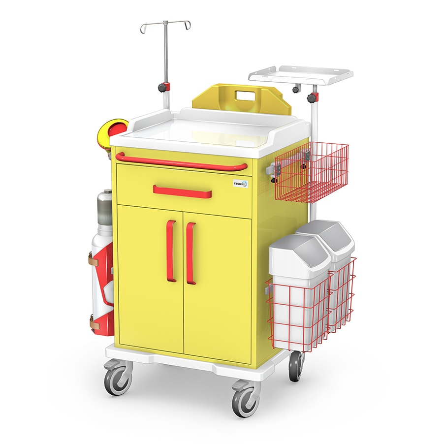 Wózek reanimacyjny REN/ABS