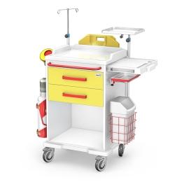Wózek medyczny reanimacyjny REN-02/ABS