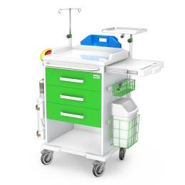 Wózek reanimacyjny REN-03/ABS