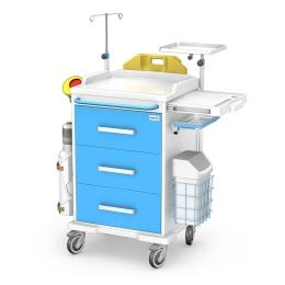 Wózek medyczny reanimacyjny REN-03/ABS