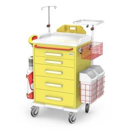 Wózek medyczny reanimacyjny REN-05/ABS