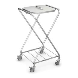 Wózek na odpady lub brudną bieliznę WZS-01
