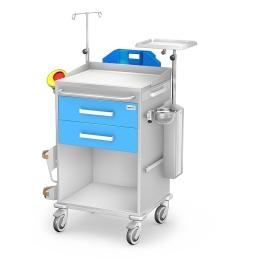 Wózek reanimacyjny REN-02 kolor