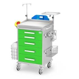 Wózek reanimacyjny REN-05 kolor