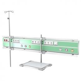 Kaseton elektryczno-gazowy ISA 9000 naścienny poziomy
