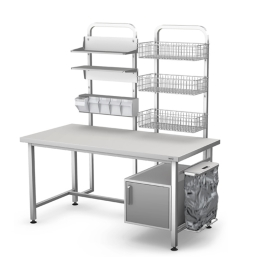 Stół do pakietowania PAK-1/2 S