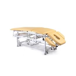 Stół do masażu 5 segmentowy SM-2-Ł z ręczną zmianą wysokości leżyska (łamany)