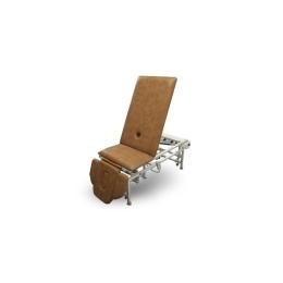 Stół do masażu 5 segmentowy SM-2H rp z hydrauliczną zmianą wysokości leżyska z regulowanym podnóżkiem