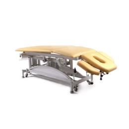 Stół do masażu 5 segmentowy SM-H-Ł z hydrauliczną zmianą wysokości leżyska (łamany)