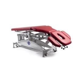 Stół do masażu suchego i terapii manualnej 7 segmentowy SM-J z elektryczną zmianą wysokości leżyska