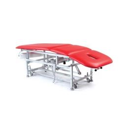 Stół rehabilitacyjny 3 sekcyjny SR-3E-Ł z elektryczną zmianą wysokości leżyska