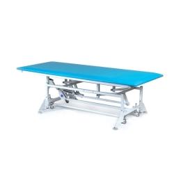 Stół rehabilitacyjny SR-3-B z ręczną zmianą wysokości leżyska do ćwiczeń z dziećmi metodą Bobath i Vojt'y