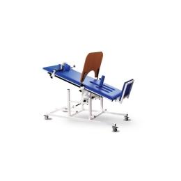 Stół rehabilitacyjny do pionizacji SP-I z ręczną regulacją kąta nachylenia leżyska