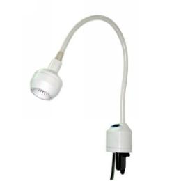 Lampa Badawczo-Zabiegowa FLH-2, z mocowaniem do ściany, (z gęsią szyją, bezcieniowa)