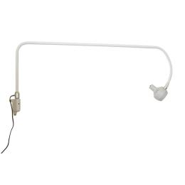 Lampa Badawczo-Zabiegowa FLH-233Z LED, z mocowaniem do ściany (z gęsią szyją, bezcieniowa)