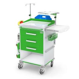 Wózek reanimacyjny REN-03ST